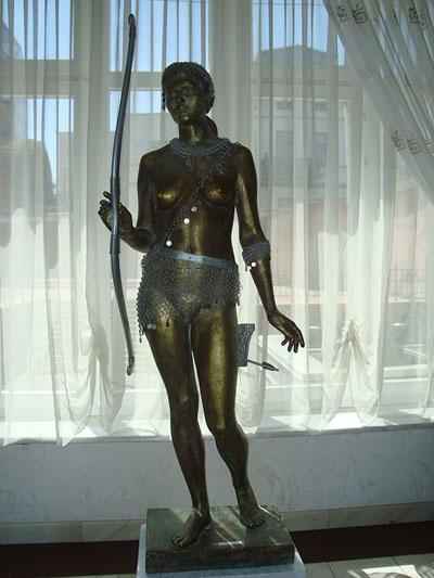 скульптура амазонки